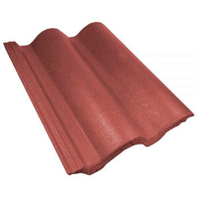 Telhas de Concreto Coppo Venetto Vermelha